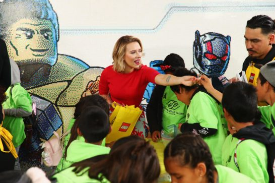 ANAHEIM, CA - APRIL 05: Scarlett Johansson attends Avengers Universe Unites, a charity event to celebrate the donation of more than $5 million in cash and toys to nonprofits supporting children with critical illnesses, at Disney California Adventure Park on April 5, 2019 in Anaheim, California. (Photo by Joe Scarnici/Getty Images for Disney) *** Local Caption *** Scarlett Johansson