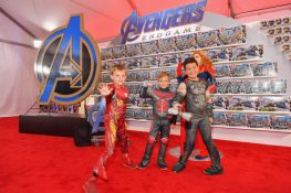 ANAHEIM, CA - APRIL 05: Guests attend Avengers Universe Unites, a charity event to celebrate the donation of more than $5 million in cash and toys to nonprofits supporting children with critical illnesses, at Disney California Adventure Park on April 5, 2019 in Anaheim, California. (Photo by Emma McIntyre/Getty Images for Disney)