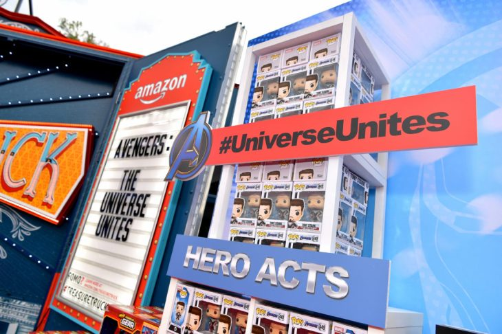 ANAHEIM, CA - APRIL 05: A view of the atmosphere at Avengers Universe Unites, a charity event to celebrate the donation of more than $5 million in cash and toys to nonprofits supporting children with critical illnesses, at Disney California Adventure Park on April 5, 2019 in Anaheim, California. (Photo by Emma McIntyre/Getty Images for Disney)