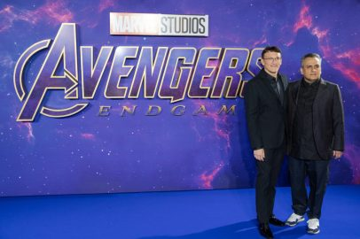 Anthony & Joe Russo attend the UK Fan Event to celebrate the release of Marvel Studios' 'Avengers: Endgame' at Picturehouse Central on April 10, 2019 in London, England.