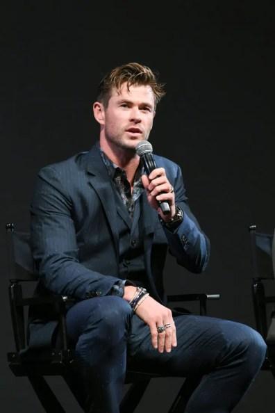 Global Tour Shanghai, China Press Conference Chris Hemsworth