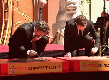 AVENGERS- ENDGAME Handprints at Chinese Theatre-10