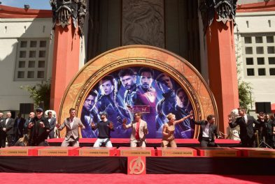 AVENGERS- ENDGAME Handprints at Chinese Theatre-16
