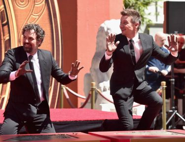 AVENGERS- ENDGAME Handprints at Chinese Theatre-26