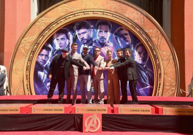 AVENGERS- ENDGAME Handprints at Chinese Theatre-27