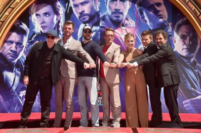 AVENGERS- ENDGAME Handprints at Chinese Theatre-28