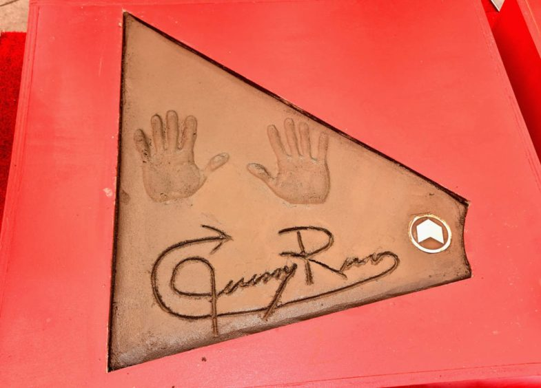 AVENGERS- ENDGAME Handprints at Chinese Theatre-39