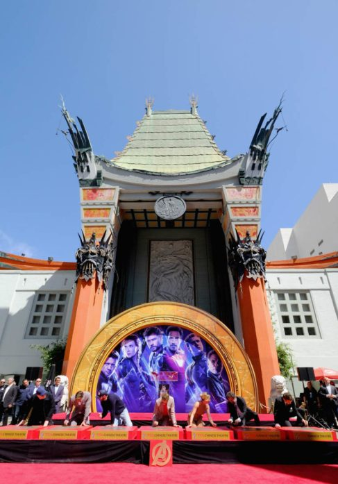 AVENGERS- ENDGAME Handprints at Chinese Theatre-5