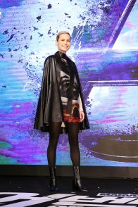 SEOUL, SOUTH KOREA - APRIL 15: Brie Larson attends the press conference for Marvel Studios' 'Avengers: Endgame' South Korea premiere on April 15, 2019 in Seoul, South Korea. (Photo by Chung Sung-Jun/Getty Images for Disney)
