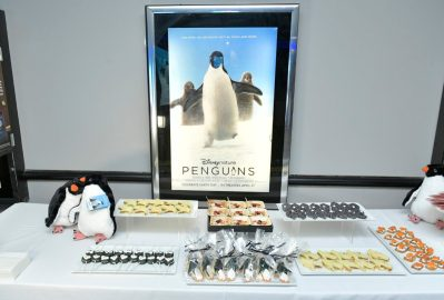 NEW YORK, NEW YORK - APRIL 14: A view of Disneynature's 'PENGUINS' Premiere hosted by The Cinema Society at AMC Lincoln Square Theater on April 14, 2019 in New York. (Photo by Roy Rochlin/Getty Images for Disney Studios)