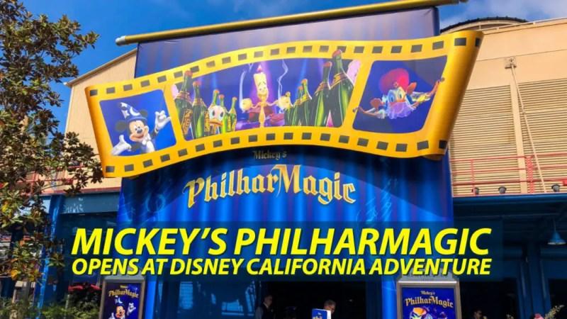 Mickey's PhilharMagic Opens at Disney California Adventure