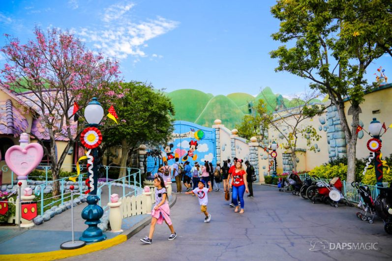 Mickeys Toontown on Day Mickey and Minnies Runaway Railway is Announced for Disneyland-49