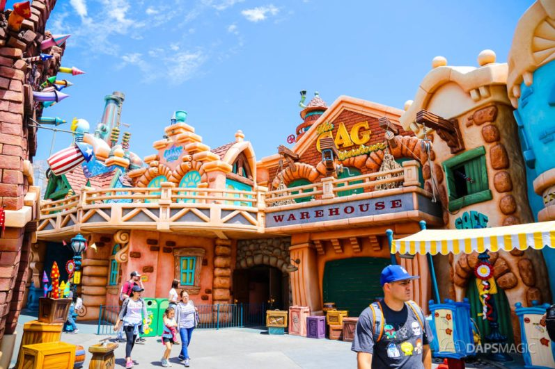 Mickeys Toontown on Day Mickey and Minnies Runaway Railway is Announced for Disneyland-9