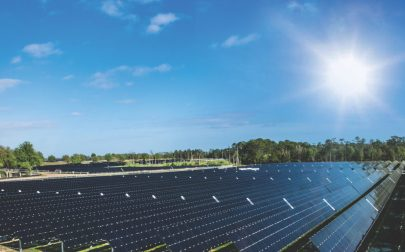 The new solar facility in Central Florida is helping to harness the power of the sun to help operate Walt Disney World Resort, all while reducing greenhouse gas emissions by tens of thousands of tons per year. (Olga Thompson)