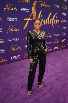 """LOS ANGELES, CA - MAY 21: Christina Milian attends the World Premiere of Disney's """"Aladdin"""" at the El Capitan Theater in Hollywood CA on May 21, 2019, in the culmination of the film's Magic Carpet World Tour with stops in Paris, London, Berlin, Tokyo, Mexico City and Amman, Jordan. (Photo by Jesse Grant/Getty Images for Disney) *** Local Caption *** Christina Milian"""