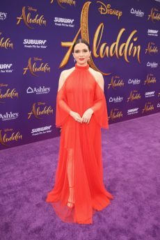 """LOS ANGELES, CA - MAY 21: Katie Stevens attends the World Premiere of Disney's """"Aladdin"""" at the El Capitan Theater in Hollywood CA on May 21, 2019, in the culmination of the film's Magic Carpet World Tour with stops in Paris, London, Berlin, Tokyo, Mexico City and Amman, Jordan. (Photo by Jesse Grant/Getty Images for Disney) *** Local Caption *** Katie Stevens"""