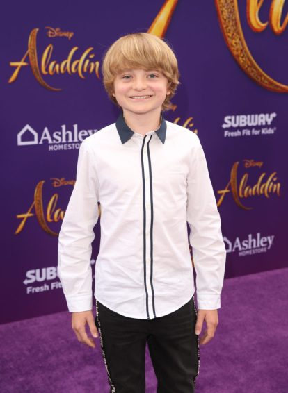 """LOS ANGELES, CA - MAY 21: Will Buie Jr. attends the World Premiere of Disney's """"Aladdin"""" at the El Capitan Theater in Hollywood CA on May 21, 2019, in the culmination of the film's Magic Carpet World Tour with stops in Paris, London, Berlin, Tokyo, Mexico City and Amman, Jordan. (Photo by Jesse Grant/Getty Images for Disney) *** Local Caption *** Will Buie Jr."""
