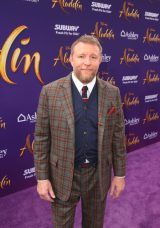 """LOS ANGELES, CA - MAY 21: Director Guy Ritchie attends the World Premiere of Disney's """"Aladdin"""" at the El Capitan Theater in Hollywood CA on May 21, 2019, in the culmination of the film's Magic Carpet World Tour with stops in Paris, London, Berlin, Tokyo, Mexico City and Amman, Jordan. (Photo by Jesse Grant/Getty Images for Disney) *** Local Caption *** Guy Ritchie"""
