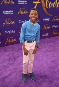 """LOS ANGELES, CA - MAY 21: Ramon Reed attends the World Premiere of Disney's """"Aladdin"""" at the El Capitan Theater in Hollywood CA on May 21, 2019, in the culmination of the film's Magic Carpet World Tour with stops in Paris, London, Berlin, Tokyo, Mexico City and Amman, Jordan. (Photo by Jesse Grant/Getty Images for Disney) *** Local Caption *** Ramon Reed"""