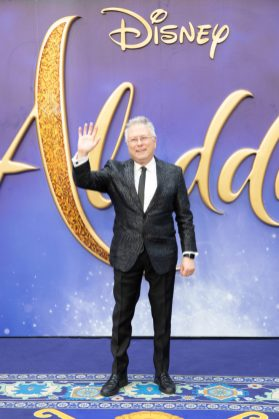 Alan Menken attends the European Gala Screening of DisneyÕs ÒAladdinÓ on May 9th at LondonÕs ODEON Luxe in Leicester Square, London UK.