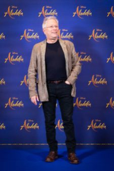 "Alan Menken attends the photo call to celebrate the release of Disney's ""Aladdin"" on May 10th in London, UK"