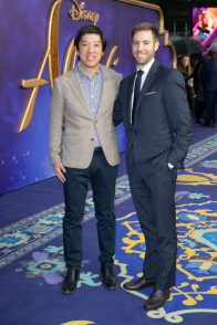 Daniel Lin and Jonathan Eirich attend the European Gala Screening of DisneyÕs ÒAladdinÓ on May 9th at LondonÕs ODEON Luxe in Leicester Square, London UK.