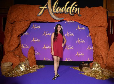 """PARIS, FRANCE - MAY 08: Cerise Calixte attends the """"Aladdin"""" gala screening at Le Grand Rex on May 08, 2019 in Paris, France. (Photo by Pascal Le Segretain/Getty Images For Disney)"""