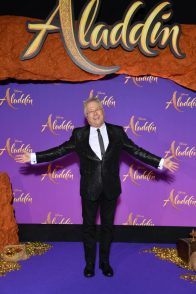 """PARIS, FRANCE - MAY 08: Composer Alan Menken attends the """"Aladdin"""" gala screening at Le Grand Rex on May 08, 2019 in Paris, France. (Photo by Pascal Le Segretain/Getty Images For Disney)"""