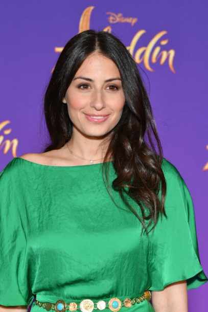 """PARIS, FRANCE - MAY 08: Hiba Tawaji attends the """"Aladdin"""" gala screening at Le Grand Rex on May 08, 2019 in Paris, France. (Photo by Pascal Le Segretain/Getty Images For Disney)"""