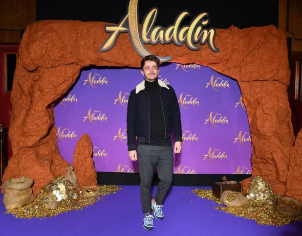 """PARIS, FRANCE - MAY 08: Guillaume Pley attends the """"Aladdin"""" gala screening at Le Grand Rex on May 08, 2019 in Paris, France. (Photo by Pascal Le Segretain/Getty Images For Disney)"""
