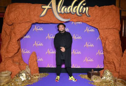"""PARIS, FRANCE - MAY 08: Raphal Yem attends the """"Aladdin"""" gala screening at Le Grand Rex on May 08, 2019 in Paris, France. (Photo by Pascal Le Segretain/Getty Images For Disney)"""