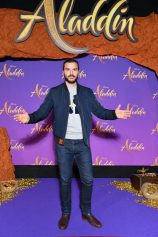 """PARIS, FRANCE - MAY 08: Benjamin Verrecchia attends the """"Aladdin"""" gala screening at Le Grand Rex on May 08, 2019 in Paris, France. (Photo by Pascal Le Segretain/Getty Images For Disney)"""