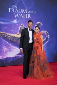 "Naomi Scott and Jordan Spence attend the ""Aladdin"" gala screening on May 11, 2019 in Berlin, Germany. .© Disney/Folioscope/Silke Reents"