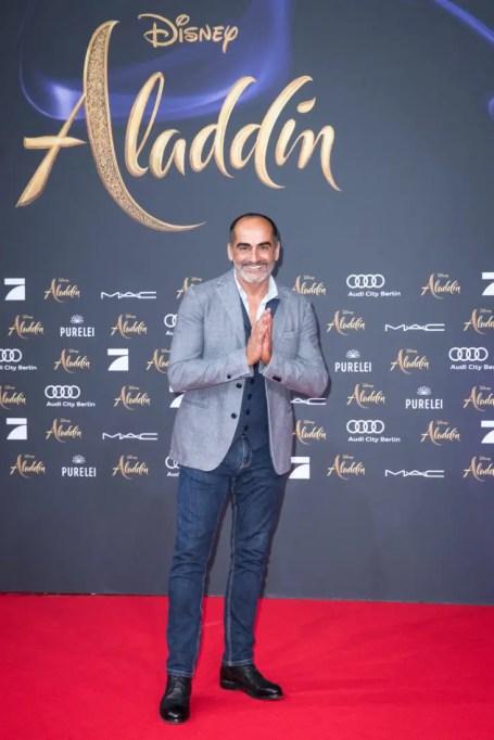"Navid Negahban attends the ""Aladdin"" gala screening on May 11, 2019 in Berlin, Germany. .© Disney/Folioscope/Silke Reents"