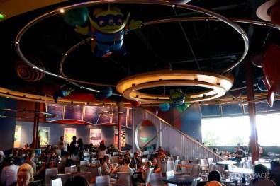 Alien Pizza Planet - Tomorrowland - Disneyland