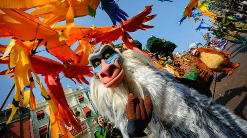 """Disneyland Paris to broadcast exclusive """"making of"""" feature from behind-the-scenes at the The Lion King & Jungle Festival"""