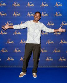 """LONDON, ENGLAND - MAY 10: Will Smith attends the photocall to celebrate release of Disney's """"Aladdin"""" at The Rosewood Hotel on May 10, 2019 in London, England. (Photo by Gareth Cattermole/Gareth Cattermole/Getty Images for Disney)"""