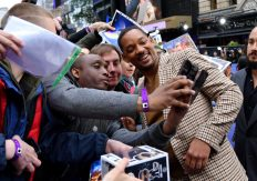 """LONDON, ENGLAND - MAY 09: Will Smith attends the European Gala Screening of Disney's """"Aladdin"""" at Odeon Leicester Square on May 09, 2019 in London, England. (Photo by Gareth Cattermole/Getty Images for Disney)"""