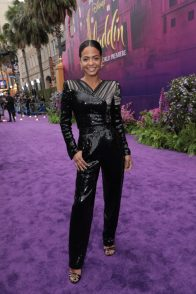 Christina Milian attends the World Premiere of DisneyÕs Aladdin at the El Capitan Theater in Hollywood, CA on Tuesday, May 21, 2019, in the culmination of the filmÕs Magic Carpet World Tour with stops in Paris, London, Berlin, Tokyo, Mexico City and Amman, Jordan. (photo: Alex J. Berliner/ABImages)
