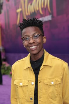Israel Johnson attends the World Premiere of DisneyÕs Aladdin at the El Capitan Theater in Hollywood, CA on Tuesday, May 21, 2019, in the culmination of the filmÕs Magic Carpet World Tour with stops in Paris, London, Berlin, Tokyo, Mexico City and Amman, Jordan. (photo: Alex J. Berliner/ABImages)