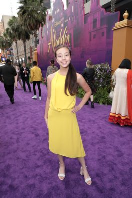 Aubrey Anderson-Emmons attends the World Premiere of DisneyÕs Aladdin at the El Capitan Theater in Hollywood, CA on Tuesday, May 21, 2019, in the culmination of the filmÕs Magic Carpet World Tour with stops in Paris, London, Berlin, Tokyo, Mexico City and Amman, Jordan. (photo: Alex J. Berliner/ABImages)