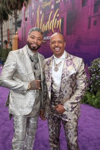 Octavius Terry, Jamal Sims attend the World Premiere of DisneyÕs Aladdin at the El Capitan Theater in Hollywood, CA on Tuesday, May 21, 2019, in the culmination of the filmÕs Magic Carpet World Tour with stops in Paris, London, Berlin, Tokyo, Mexico City and Amman, Jordan. (photo: Alex J. Berliner/ABImages)