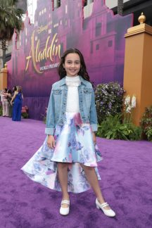 Kaylin Hayman attends the World Premiere of DisneyÕs Aladdin at the El Capitan Theater in Hollywood, CA on Tuesday, May 21, 2019, in the culmination of the filmÕs Magic Carpet World Tour with stops in Paris, London, Berlin, Tokyo, Mexico City and Amman, Jordan. (photo: Alex J. Berliner/ABImages)