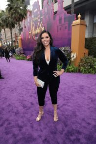 Miranda May attends the World Premiere of DisneyÕs Aladdin at the El Capitan Theater in Hollywood, CA on Tuesday, May 21, 2019, in the culmination of the filmÕs Magic Carpet World Tour with stops in Paris, London, Berlin, Tokyo, Mexico City and Amman, Jordan. (photo: Alex J. Berliner/ABImages)