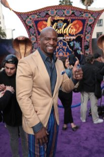 Terry Crews attends the World Premiere of DisneyÕs Aladdin at the El Capitan Theater in Hollywood, CA on Tuesday, May 21, 2019, in the culmination of the filmÕs Magic Carpet World Tour with stops in Paris, London, Berlin, Tokyo, Mexico City and Amman, Jordan. (photo: Alex J. Berliner/ABImages)