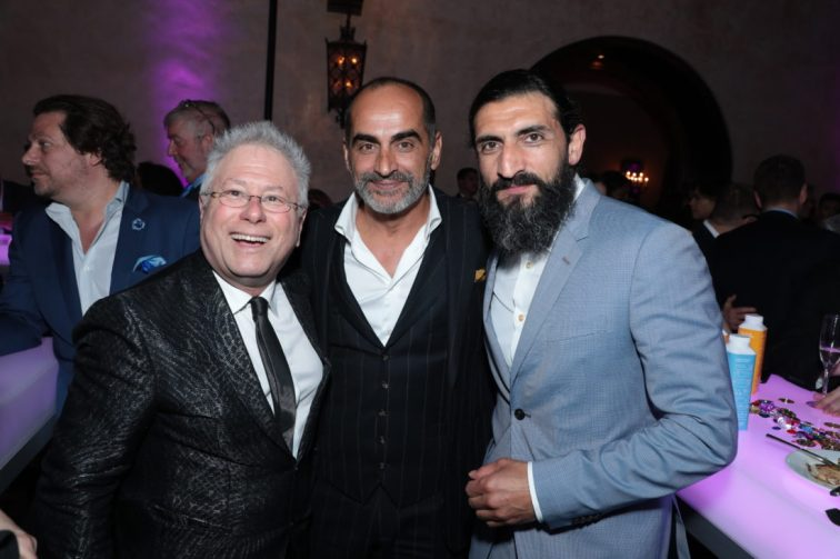 Adam Menken, Navid Negahban and Numan Acar attend the World Premiere of DisneyÕs Aladdin after party at the Roosevelt Hotel in Hollywood, CA on Tuesday, May 21, 2019, in the culmination of the filmÕs Magic Carpet World Tour with stops in Paris, London, Berlin, Tokyo, Mexico City and Amman, Jordan. (photo: Alex J. Berliner/ABImages)