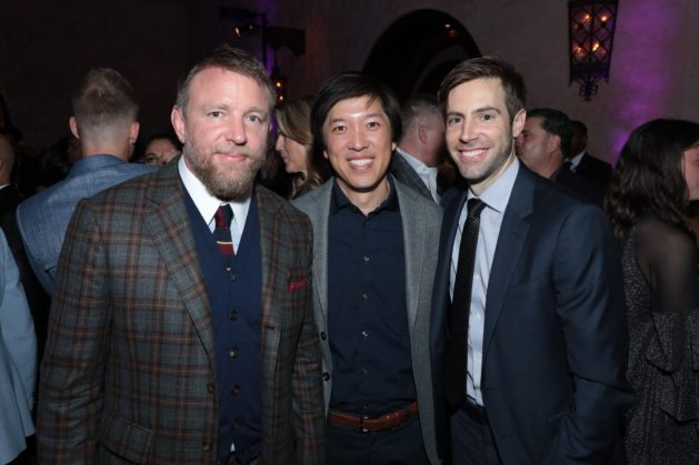Director Guy Ritchie and Producers Dan Lin and Jonathan Eirich attend the World Premiere of DisneyÕs Aladdin after party at the Roosevelt Hotel in Hollywood, CA on Tuesday, May 21, 2019, in the culmination of the filmÕs Magic Carpet World Tour with stops in Paris, London, Berlin, Tokyo, Mexico City and Amman, Jordan. (photo: Alex J. Berliner/ABImages)