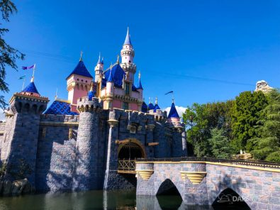 More Walls Come Down Around Sleeping Beauty Castle at Disneyland