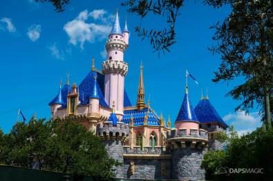 Sleeping Beauty Castle New Color Scheme - Disneyland Resort