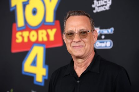 HOLLYWOOD, CA - JUNE 11: Tom Hanks attends the world premiere of Disney and Pixar's TOY STORY 4 at the El Capitan Theatre in Hollywood, CA on Tuesday, June 11, 2019. (Photo by Jesse Grant/Getty Images for Disney) *** Local Caption *** Tom Hanks